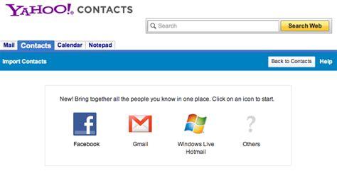 email bei yahoo zurückholen facebook kontakte mit email adressen via yahoo