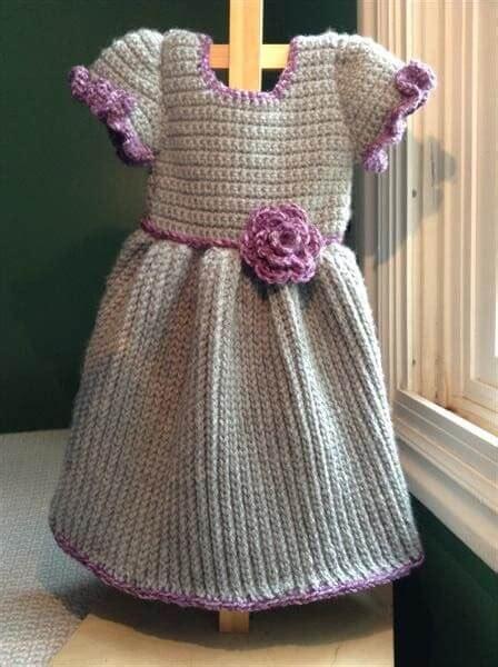 crochet baby winter dress  crochet patterns