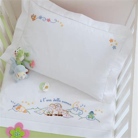 lenzuolini ricamati per culla lenzuolino lettino disegno carta
