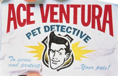 ace ventura business card ace ventura pet detective poster fonts typophile