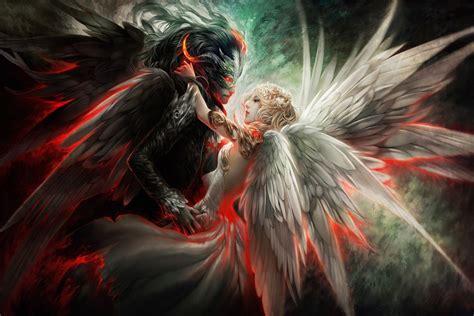 imagenes angel negro amor entre un 225 ngel blanco y un 225 ngel negro 67052