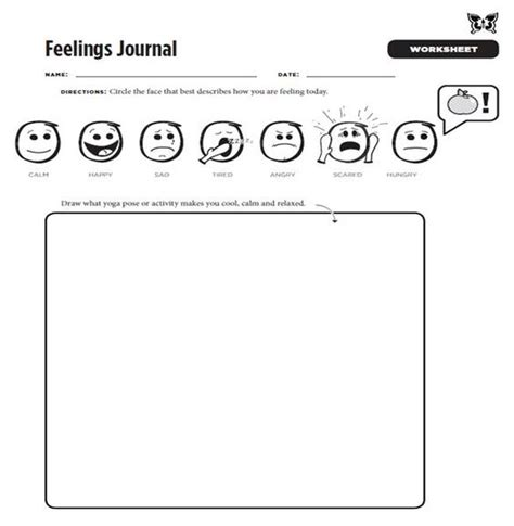 the mindfulness journal daily practices writing prompts and reflections for living in the present moment books feelings journal worksheet from the mindful practices
