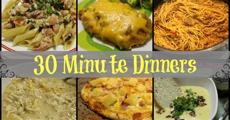 fantastical sharing of recipes 30 minute dinners