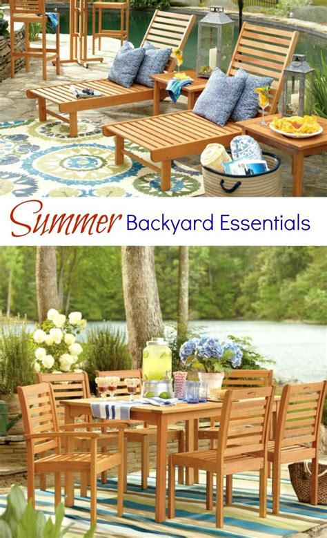 Backyard Essentials by Summer Backyard Essentials Sun Backyards And Outdoors