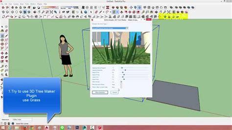 tech tree maker sketchup สอนการต ดต งปล กอ น 3d tree maker plugin s