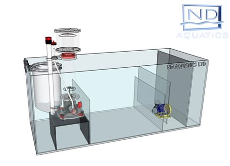 aquarium pump design sump tanks aquarium manufacturers nd aquatics ltd
