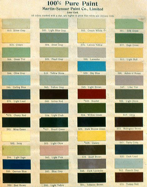 historic colors historical colour range paint colours between 1650 and