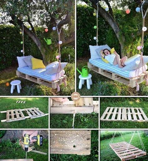 Schaukelbett Garten