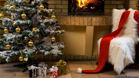 fireplace christmas decorations  p
