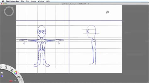 sketchbook pro how to draw how to draw character model sheets in sketchbook pro
