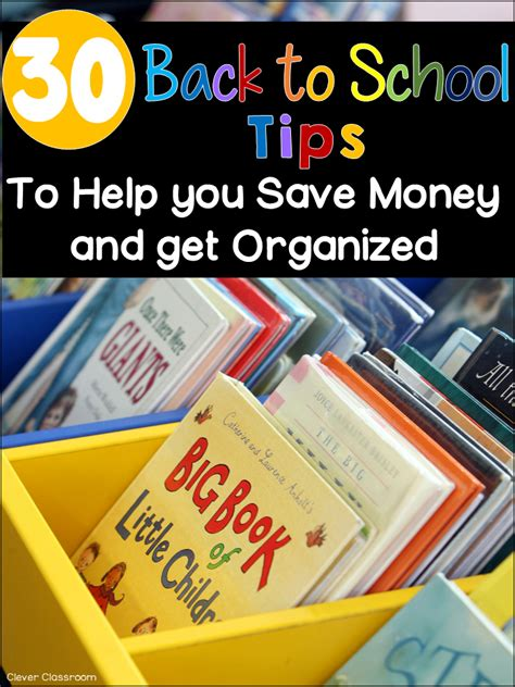 help getting organized get organized with organizational 30 back to school tips to help you save money and get