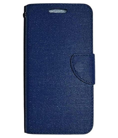 Best Leather N Cover Flipsamsung Galaxy J1 J2 J3 J5 J7 2015 Flip samsung galaxy j2 pro flip cover by style blue