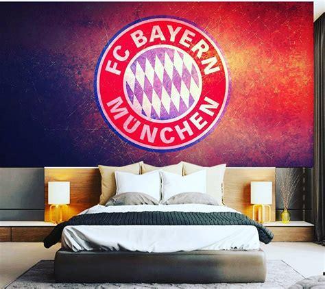 Jam Dinding Bayern Munchen 41 motif wallpaper dinding kamar tidur terbaru 2018