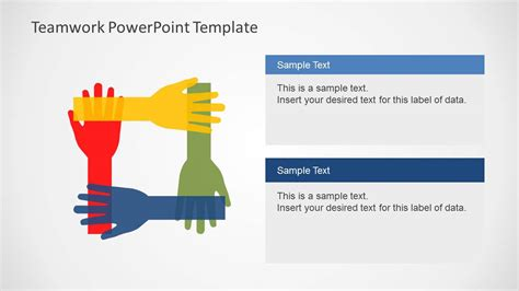 Teamwork Powerpoint Template Slidemodel Teamwork Powerpoint Templates