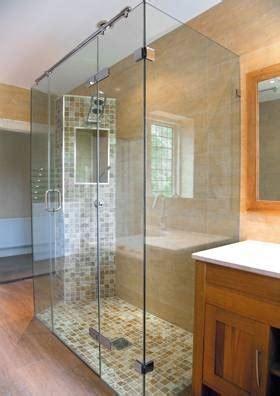 come costruire un box doccia box doccia tre lati bagno