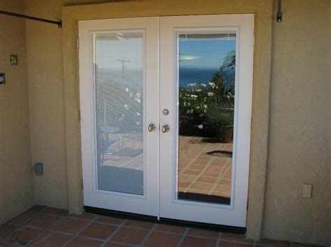Patio Doors With Blinds Built In by Patio Patio Doors With Built In Blinds Home Interior Design