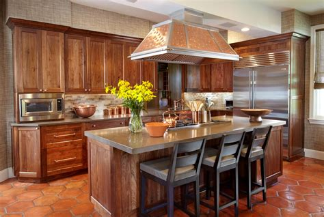 Copper Style Kitchen Accessories by Island Kitchen Renovation Sands Point Ny Copper