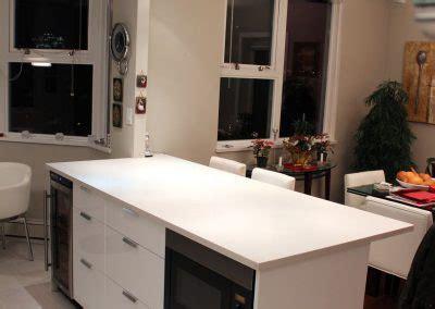 vancouver kitchen island vancouver kitchen renovation a monochromatic marvel in