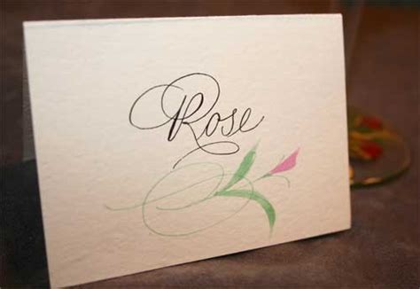 Calligraphy Envelopes, Invitations, Place Cards   Artful