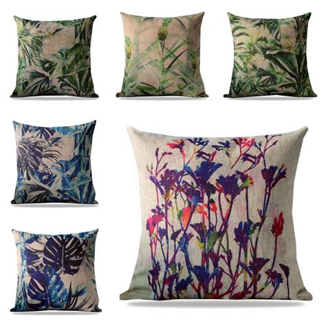 decorative bed pillows cheap online get cheap tropical decorative pillows aliexpress