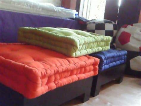 almofada futon 70x70 aprenda a fazer futon artesanato cultura mix