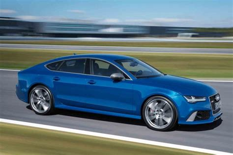 audi rs7 manual transmission 2016 audi rs7 cranks up the power to 605 hp american luxury