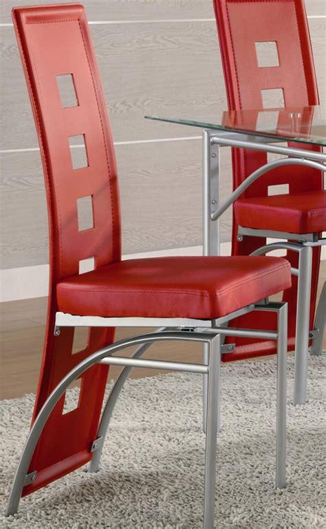 dining coaster los feliz black metal chair coaster fine coaster los feliz dining chair red 101683 at homelement com