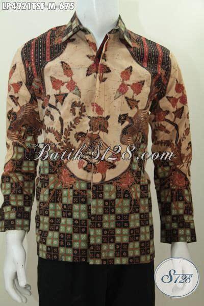 Terjual Sale Kemeja Shirt baju batik pria karir sukses busana batik premium