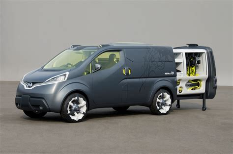 nissan nv200 office nissan nv200 mobile office concept