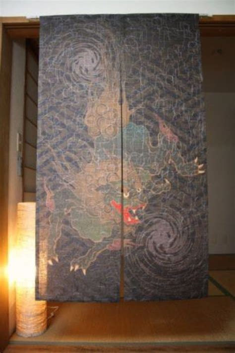 asian door curtain new noren japanese door curtain karajishi from japan 11az