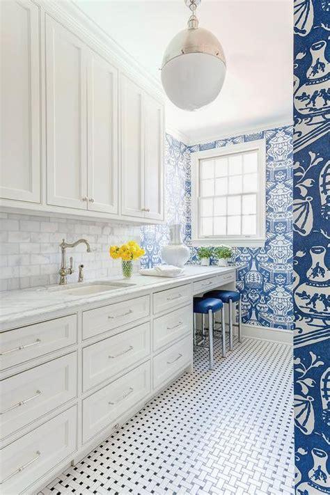 blue laundry room blue laundry room wallpaper contemporary laundry room
