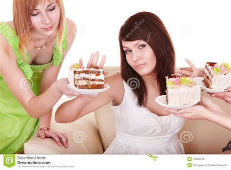 refuses to eat refuse to eat cake royalty free stock image image 13313416