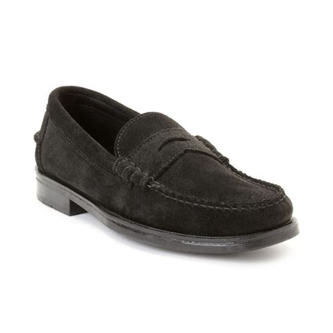 beef roll loafer sebago grant beef roll loafers in black for lyst