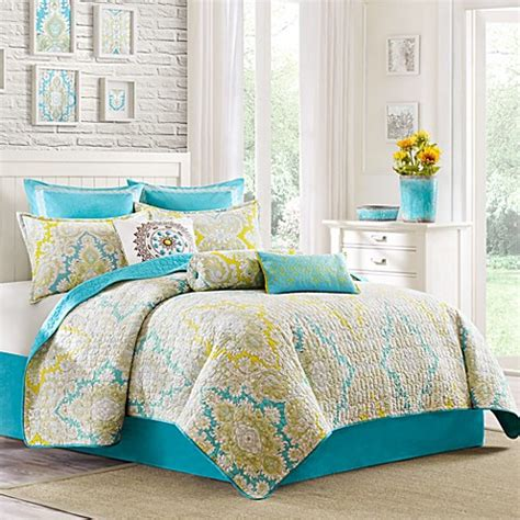 bed bath beyond quilts echo design 174 hudson paisley quilt 100 cotton bed bath