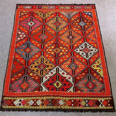 rugs from turkey vintage turkish kilim rug 52 quot x41 4 quot 132x105cm shipping free handwoven wool rugs cicim