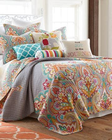 Vineyard Paisley Comforter Set by Echo Design Vineyard Paisley Bedding Collection Top