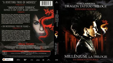 dragon tattoo movie sequel dragon tattoo trilogy movie blu ray scanned covers dtt
