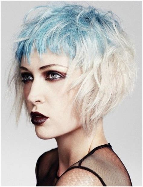 messy short layers on lower length messy short layered hair styles ombre hairstyles short
