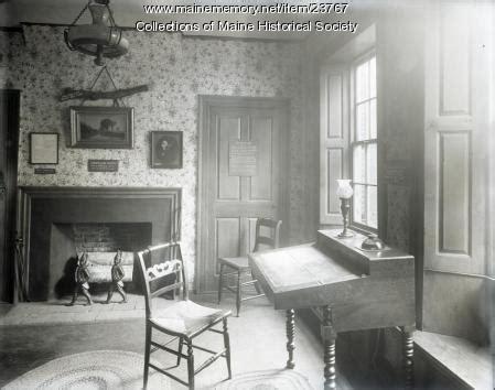 zoom room portland maine memory network rainy day room wadsworth longfellow house portland 1908