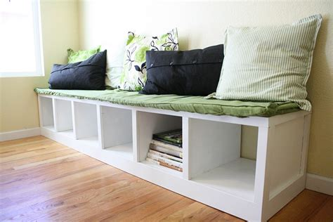 diy storage bench furniture diy white wood breakfast nook furniture bench