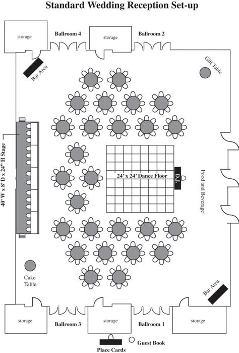 floor plan for wedding reception floor plan wedding floor plans lansing center