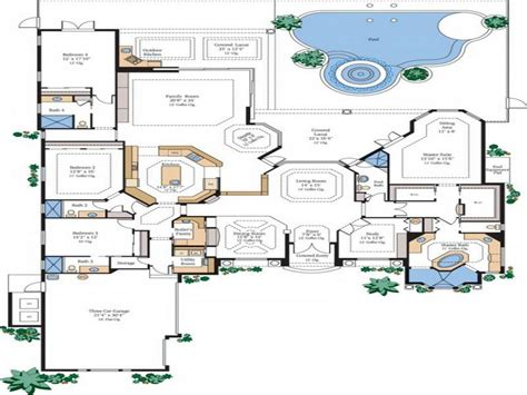 Best Floor Plans For Homes High Quality Best Home Plans 4 Best Luxury Home Plans