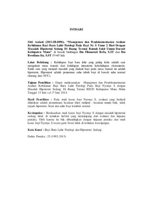 Intisari Patologi karya tulis ilmiah asri akbid paramata raha