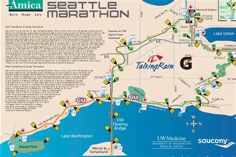 seattle marathon map amica seattle marathon 2014 2015 date registration
