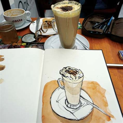 how much pumpkin to give a daily daily challenge how to sketch a pumpkin latte how to artists illustrators