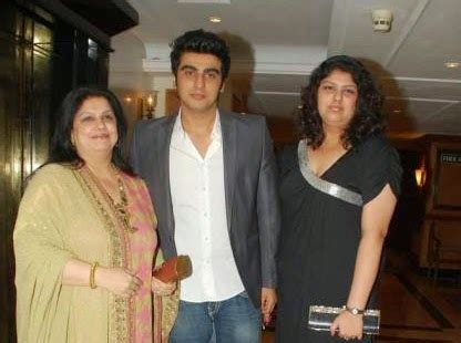 biography of mother and father arjun kapoor family photos father and mother age b day