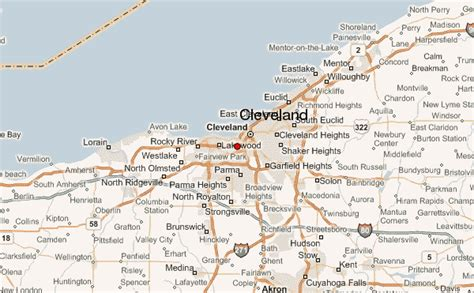cleveland map cleveland location guide