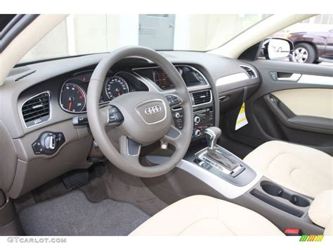 2013 Audi A4 Interior by Velvet Beige Moor Brown Interior 2013 Audi A4 2 0t Quattro