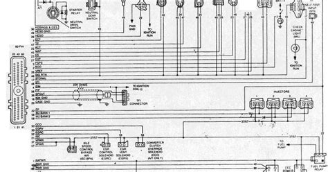 1988 1990 ford mustang 2 3l eec wiring diagram all about