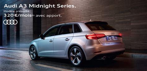 Audi A3 Baureihen by Audi Midnight Series C A R